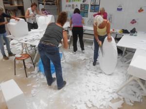Workshop mozaiek 3D