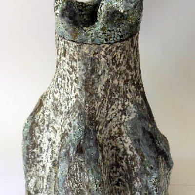 'Ik houd van bomen'keramiek, 40 cm hoog, 2014