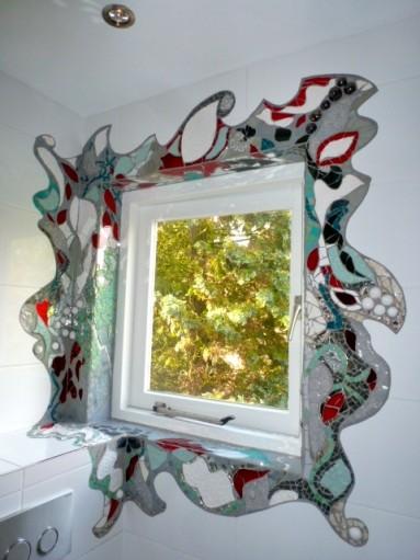 Dekoratie , keramiek en mozaiek badkamer