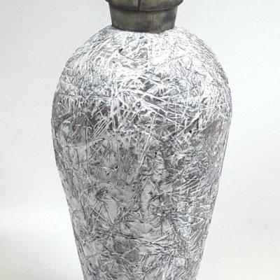 'Grasvaas', keramiek, 57 cm hoog, 2019