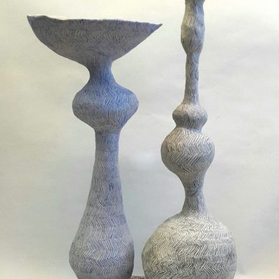 Common, keramiek, potlood, 51 cm hoog, 2020