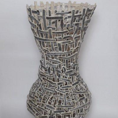 Ena apo ta dyo 1, steengoed, 95 cm hoog, 2021